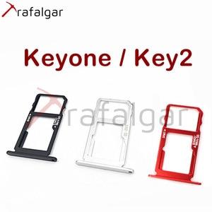 Image 1 - Plateau de carte SIM SD pour BlackBerry Key2 support SIM Dtek70 adaptateur de prise de fente pour carte Micro SD pour BlackBerry Keyone plateau SD remplacer