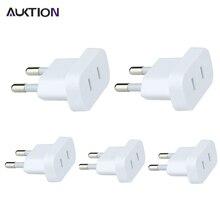 Plug-Converter-Adaptor AUKTION Wall-Charge EU US with Security-Door AC Travel 5pcs/Lot