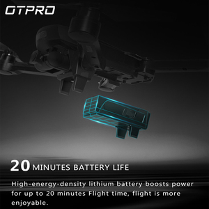 Image 3 - OTPRO mini drone GPS 5.8G 1KM Foldable Arm FPV with 4K UHD 1080P Camera  RC Dron Quadcopter RTF High Speed drones ufo Helicopter
