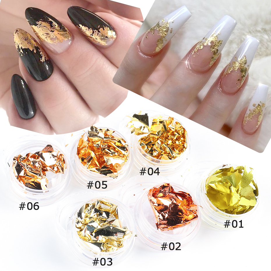 Gold Nails Foils