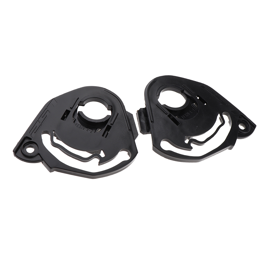 Ratchet Side Pivot Kit Base Plate Set for LS2 FF352 Moto Helmet Visor Lens Base