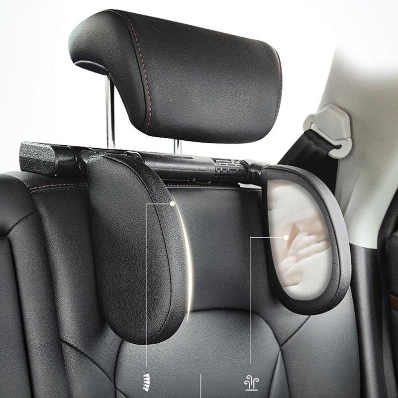 1 Набор детских и взрослых вращающихся автомобильных подголовников для Opel Toyota Renault Audi A3 kia Rio K2 Volkswagen Passat B5 B6