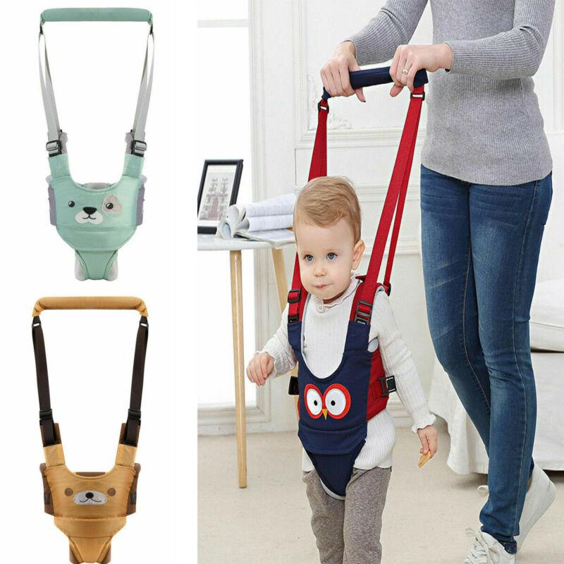 Toddler Baby Walking Assistant Learning Walk Harness Safety Belt Harness Walker Wings Kid Boy Girl Leashes 6-24M