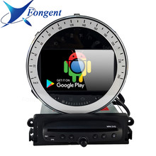 Lecteur DVD de voiture DSP PX6 | Système IPS, Android GPS, carte DSP PX6, Radio, Bluetooth 5.1, Mini Cooper R56, 2006, 2007, 2008, 2009, 2010, 2011, 2012(China)