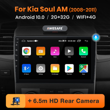 AWESAFE PX9 for Kia Soul AM 2008 2009 2010 2011 Car Radio Multimedia video player GPS No 2din 2 din Android 10.0 2GB+32GB