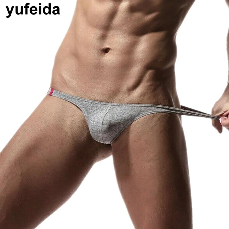 Men/'s Underwear Bikini Thongs T-Back Bulge Pouch G-string Briefs Underpants