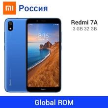 Rom global xiaomi redmi 7a 3gb 32gb 4000mah telefone móvel snapdargon 439 octa núcleo 5.45 polegada 18:9 tela cheia 13mp câmera
