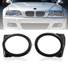 Черные Автомобильные противотуманные фары для BMW E46 M3 Style 2001 2002 2003 2004 2005 2006 левая и правая противотуманные фасветильник