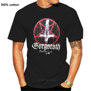 GORGOROTH Large T-Shirt Immortal 1349 Marduk Tsjuder Taake Carpathian Forest Sleeve Men T shirt Fashion image
