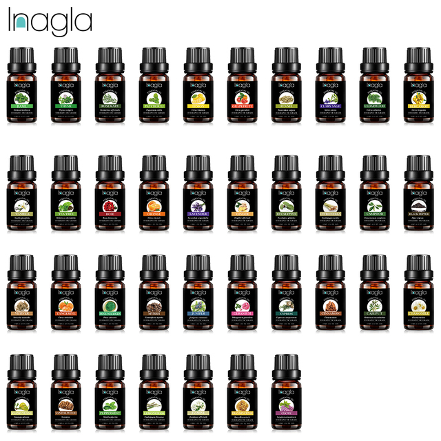 Inagla Sandalwood Essential Oil Pure Natural 10ML Pure Essential Oils Aromatherapy Diffusers Oil Healthy Calming Air Fresh Care 2