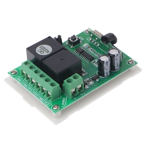 Image 5 - DC12V 2CH RF Wireless Remote Control Switch 2 Button Transmitter + Receiver 433MHz