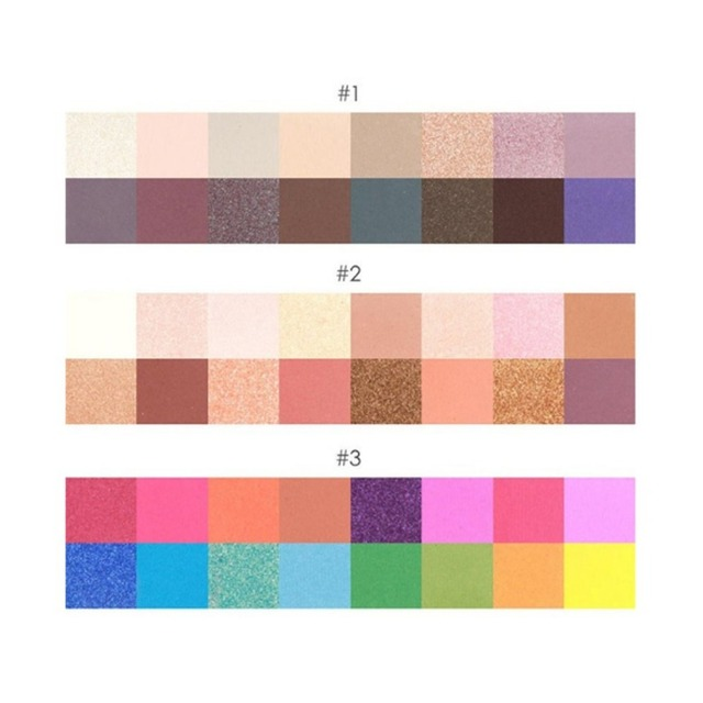 16 Colors/SET Professional Women Eye Shadow Makeup Cosmetic Powder Waterproof Long Lasting Smoky Eyeshadow Palette Makeup Tool 3