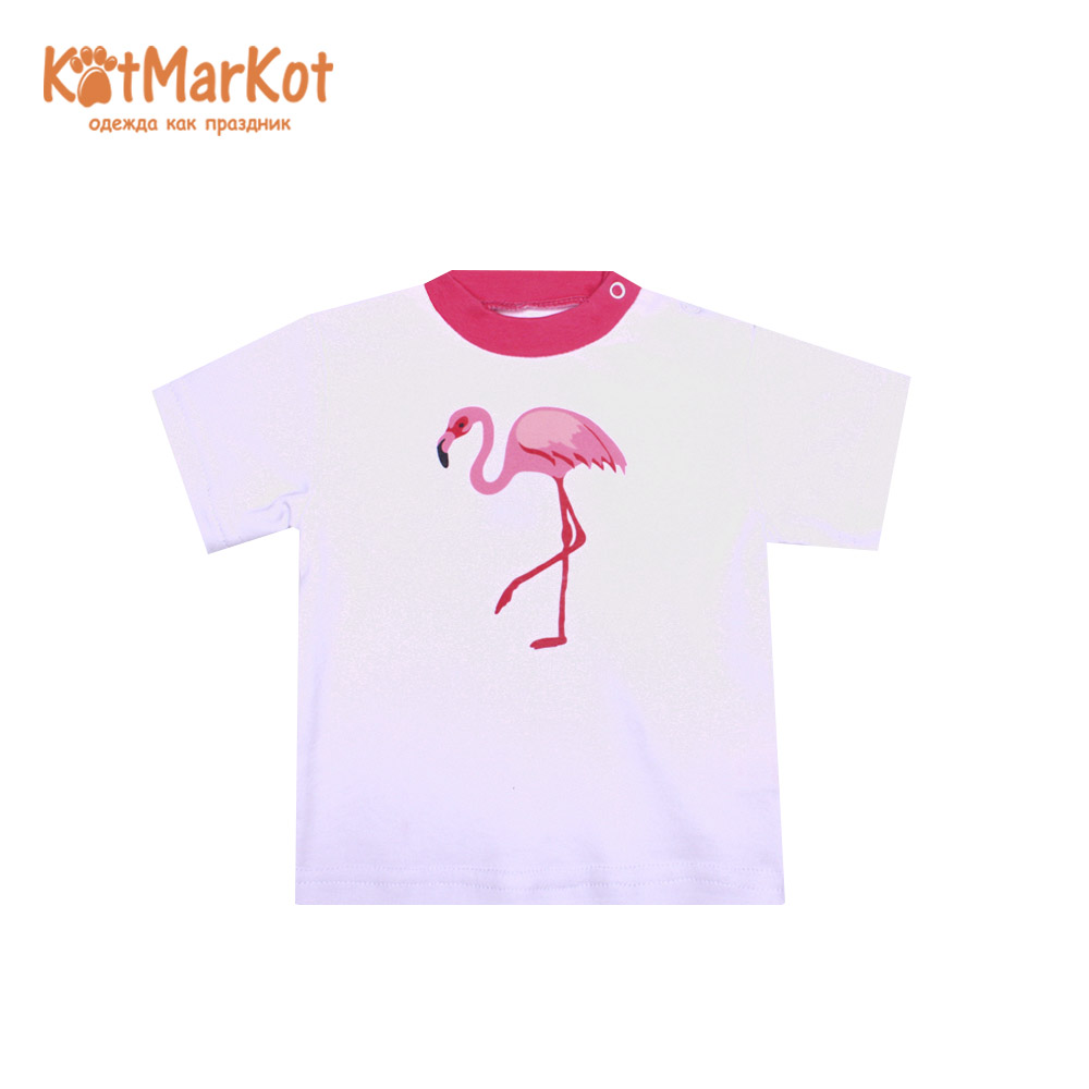 T-Shirts Kotmarkot 7719  for children t-short Jersey tee shirt baby clothes Cotton cat sotmarket Baby Girls Casual Animal casual round neck bloodstain print short sleeve t shirt for women