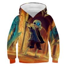 New boys and girls fashion casual 3D hooded sweatshirt, cartoon hat sweatshirt, personalized printing children's fashion