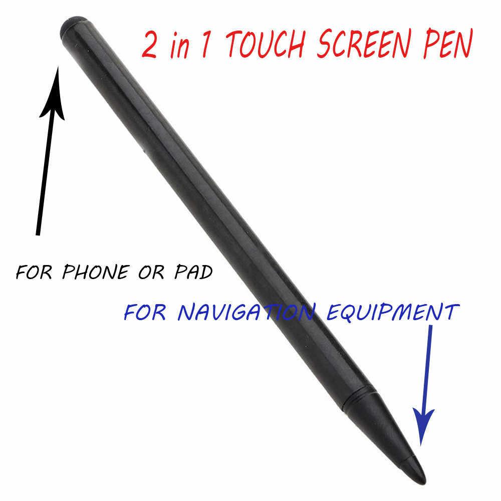 3 قطعة العالمي الصلبة ستايلس قلم شاشة اللمس آيفون باد لسامسونج هاتف تابلت الكمبيوتر عالية الجودة بالسعة القلم # L2