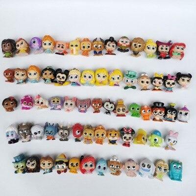 Оригинальные куклы принцессы диснеевские, серия 1 и 2, Мультяшные монстры, мини-размер, редкая коллекция, без Dups, подарок для детей, 10-50 шт.