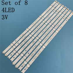 Светодиодная лента для подсветки телевизора 49 дюймов, 8 шт., 49UH6109-ZB 49UH610A-UJ 49UH610T 49UH610T-DJ 49UH610T-TB 49UH610V 49UH610V-ZB49UH6110-SF