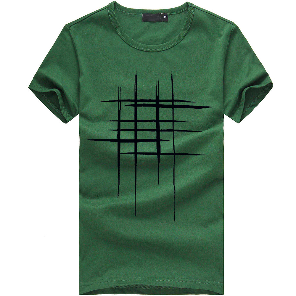 t shirt men O Neck Men Printing Tees Shirt Short Sleeve T Shirt Cotton Casual Blouse t shirt men summer casual cotton in T Shirts from Men 39 s Clothing