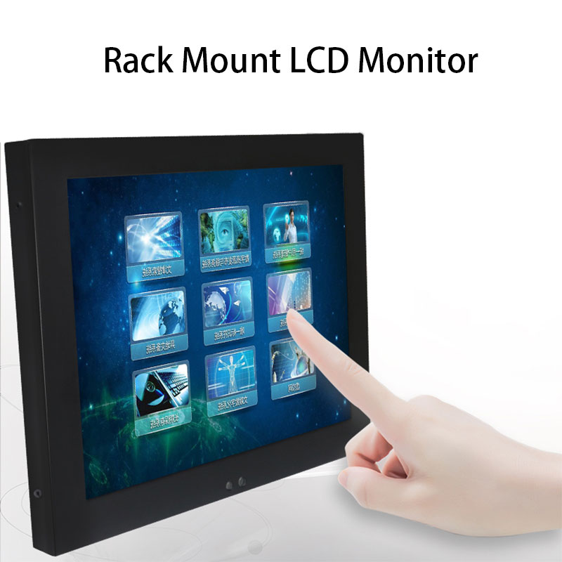 8,4 zoll <font><b>Monitor</b></font> VGA HDMI DVI USB Interface Kostenloser versand Widerstand Touchscreen Industrie Display 800*600 image