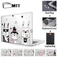 MTT funda de dibujos animados para Macbook Air Pro, cubierta de cristal con barra táctil, Retina 11, 12, 13, 15 y 16, a2251