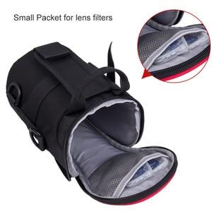 Image 4 - Улучшенная сумка для объективов EIRMAI, нейлоновые функциональные сумки для объективов DSLR, сумка для объективов камеры, высококачественный чехол для объектива EIRMAI, водонепроницаемый чехол для объектива SLR