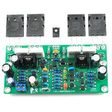Bass Gun L20 SE A1943 C5200 200W 8R Mono Assembled AMP Amplifier Finished Board 2 channel l20 se power amplifier finished board transistor amplifier board a1943 c5200 350w 350w