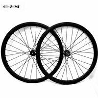 700c ruedas carbono bicicleta carretera asymmetrische 50x27mm tubeless rad Novatec D791SB D792SB 100 x12 142x12 disc laufradsatz