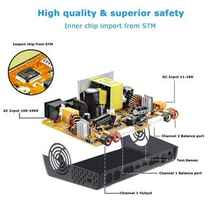 Image 2 - Htrc c240 duo rc lipo carregador ac/150w dc/240w duplo canal 10a equilíbrio descarregador para lipo lihv vida lilon nicd nimh pb bateria