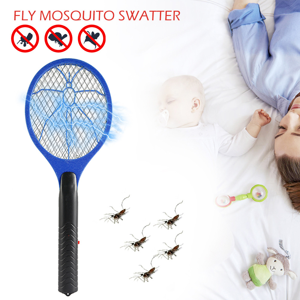 Electric Mosquito Swatter Insect Fly Handheld Racket Killer Protect Human Giant Hand Shaped Swatter Fly Killer Vliegenmepper