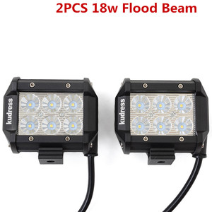 Image 2 - LED Work Light Bars 36w 18w Tractor Fog Offroad Hight Spot Flood Wide Beam Working headlight lamp 12V 24V For Auto Car ATV