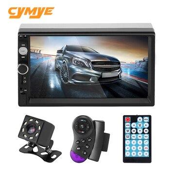 """Cymye 2 Din Car Radio 7"""" HD Autoradio Touch Screen Multimedia Player"""