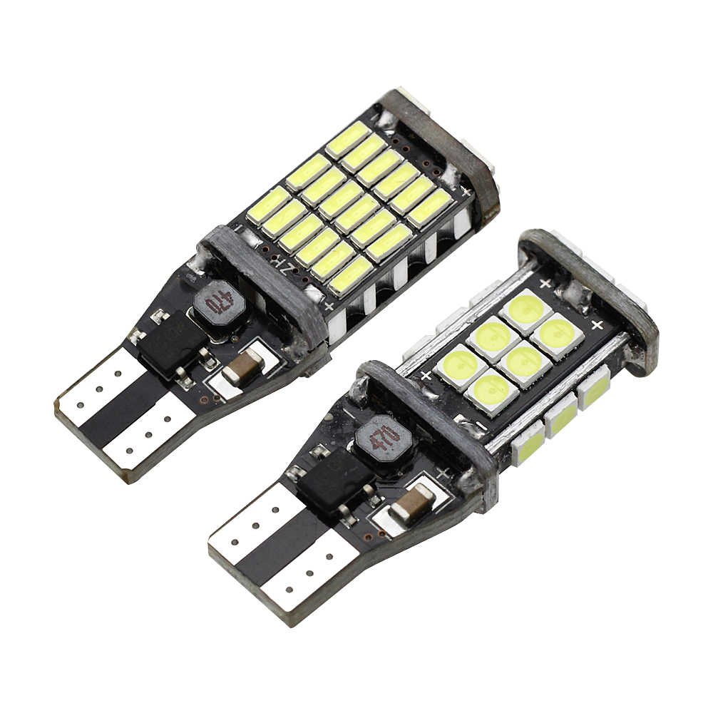 1x T15 W16W 921 Super Bright 1200lm 3030 SMD LED CANBUS No Error Car Backup Reverse Light Tail Brake Light 12V Xenon White