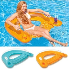 Get more info on the Inflatable swimming pool floating bed seat swimming row mat outdoor sea beach adult children summer vacation holiday