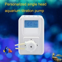 12V KSP F01A Peristaltic Metering Pump Aquarium dosing pumpWith LCD Protection Screen