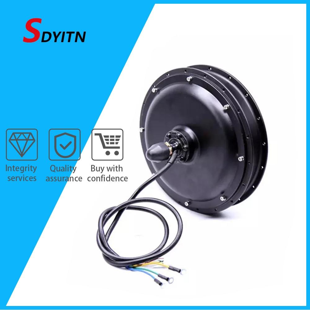 SDYITN 48 В, 1500 Вт, кассета заднего колеса, мотор 8fun CST, Мотор Ступицы, бесщеточный мотор ступицы, мощный электрический велосипед