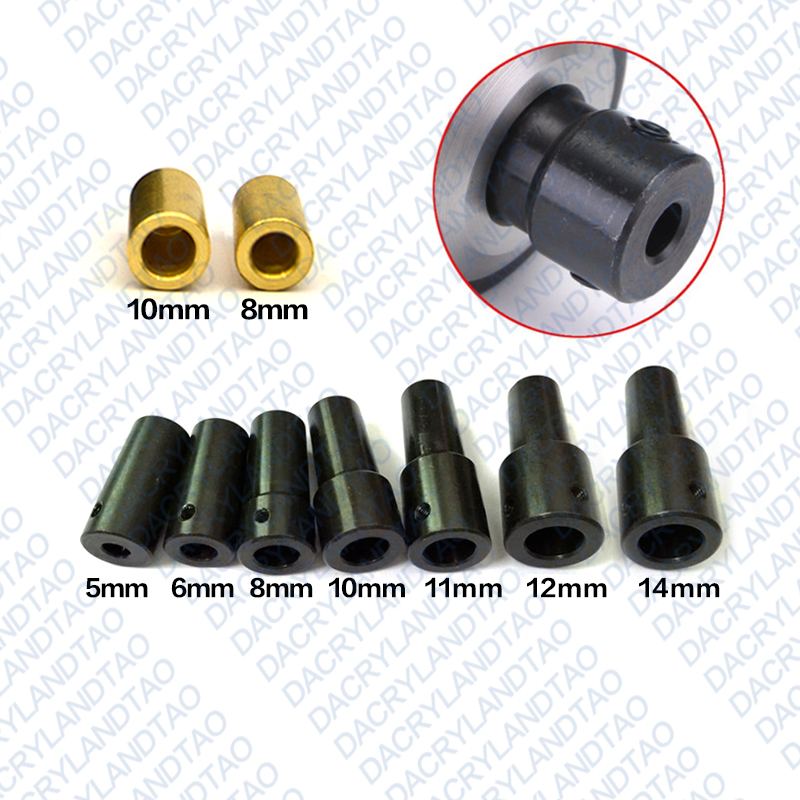 B16 Drill Chuck Connecting Rod Sleeve Copper Steel Taper Coupling 5mm/6mm/8mm/10mm/11mm/12mm/14mm