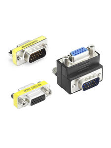 Vga-Adapter Coupler Convertor SVGA Male-To-Female-Connector Vgender Plug Play Changer