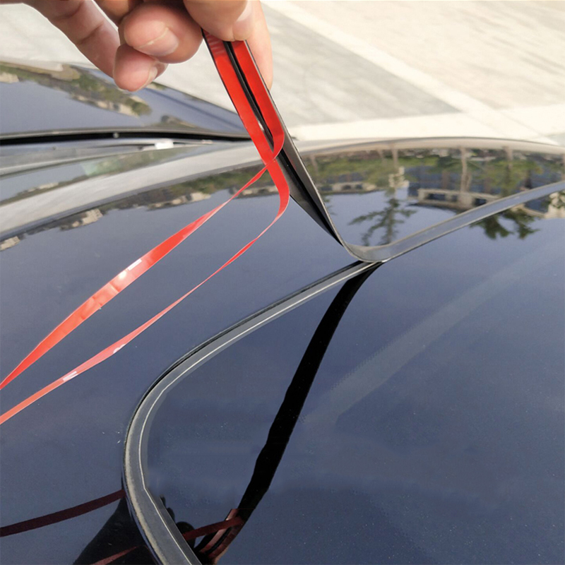 Auto Rubber Seals Window Protector Windshield Sealing Strips Noise Insulation Dustproof Car Rubber Seal Strips Car Accessories