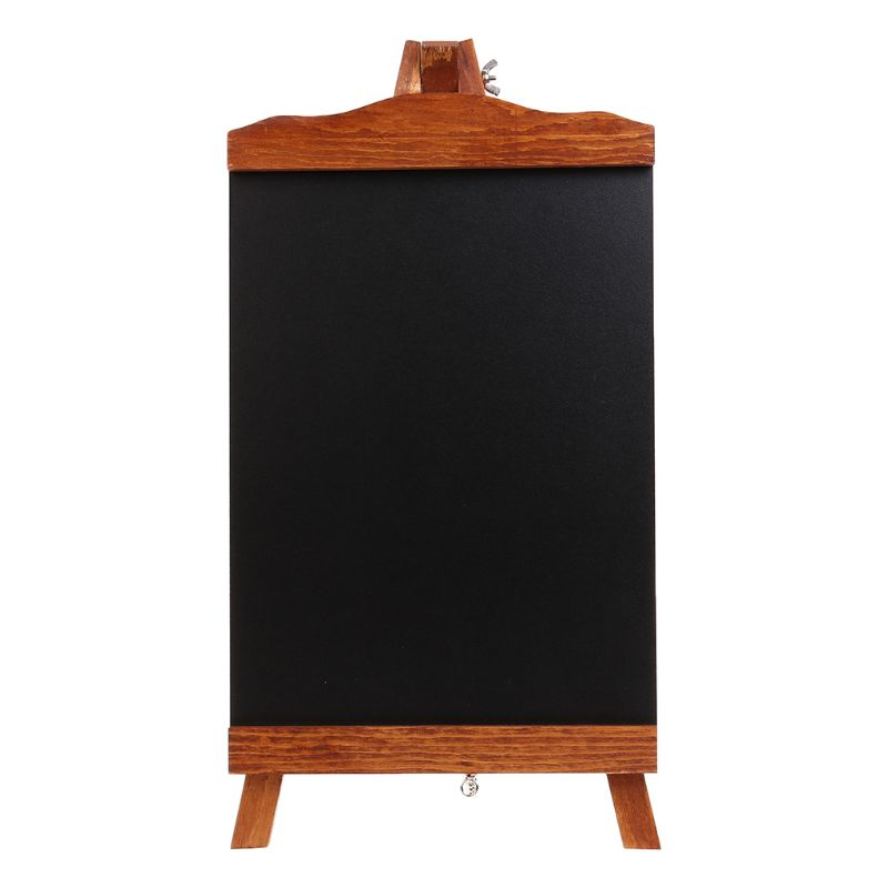 Vintage Desktop Memo Message Blackboard Easel Chalkboard Kids Writing Board Sign M5TB