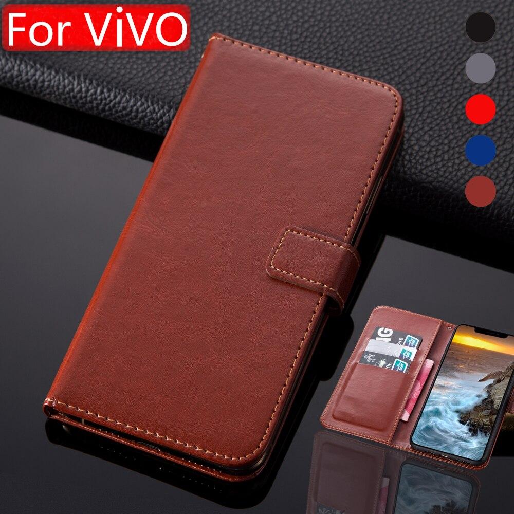 For Vivo NEX 3 Luxury Flip Book Style Case Vivo X27 X30 Pro Y11 Y12 Y15 Y17 Y19 Leather Phone Cover For Vivo Y3 Wallet Case