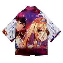 Fall 2021 Anime How a Realist Hero Rebuilt the Kingdom Kimono  Samurai Costume Clothing Loose  Clothes Male Casual Outerwear