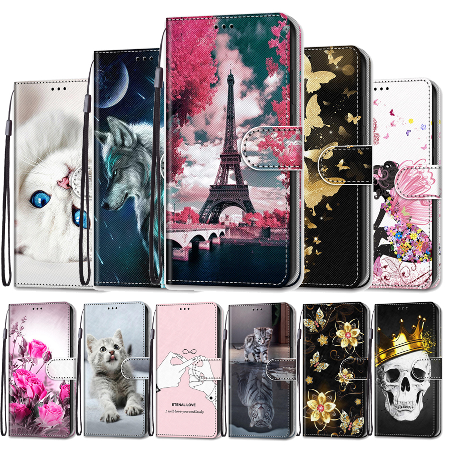 Funda For <font><b>Samsung</b></font> Galaxy S5 S6 S7 S8 <font><b>S9</b></font> Plus <font><b>Flip</b></font> <font><b>Case</b></font> Leather Wallet Stand Holder <font><b>Cover</b></font> for <font><b>Samsung</b></font> S5 S6 S7 S8 <font><b>S9</b></font> <font><b>Phone</b></font> <font><b>Case</b></font> image