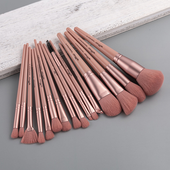 ANMOR Makeup Brushes Set Powder Blush Fan Brush Eyeshadow Blending Brush Shading Eyebrow Contour Make Up Tool