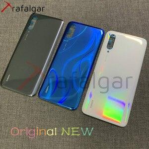 Image 1 - Original NEW For Xiaomi Mi 9 Lite Back Glass Battery Cover Mi9 Lite Mi CC9 Rear Glass Door Case For Xiaomi Mi 9 Lite Back Cover