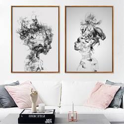 Wish/Лидер продаж, современная абстрактная одежда в европейском стиле для мальчиков и девочек gua zhou hua, декоративная Гостиная, спальня