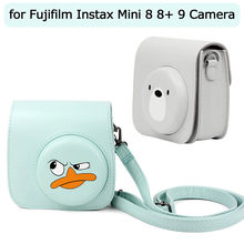 OMESHIN Compatibel Mini 9 Groovy Camera Tas Voor Fujifilm Instax Mini 8 8 + 9 Camera Nieuwe Leuke Camera tas(China)