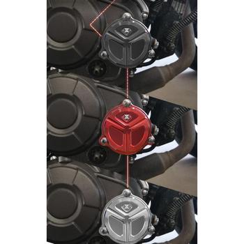 Metalowy korek oleju osłona filtra paliwa lejki drzwi paliwa motocykl dla Benelli TNT125 TNT135 tanie i dobre opinie perfeclan CN (pochodzenie)