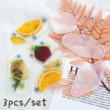 Transparent Silicone Mould For Pendant Key Chain Resin Decorative Craft DIY resin molds for jewelry Craft Tool