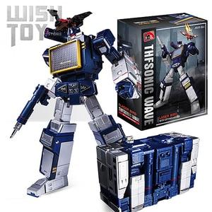 Image 1 - Transformation G1 THF 01J THF01J Soundwave OneเทปWalkman MasterPiece KO MP13อัลลอยด์Oversizeอะนิเมะรูปหุ่นยนต์ของเล่น
