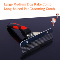 large-medium-dog-rake-comb-long-haired-pets-grooming-tool-stainless-steel-needle-comb-for-big-dogs-golden-husky-german-shepherd